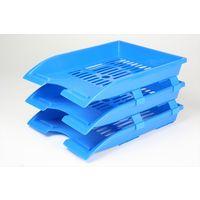 Omega Executive Plastic File Tray Set of 3 (1755)