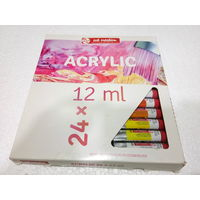 Royal Talens Art Creation Acrylic Colour Tube 12ml 24 Shades (9021724M)