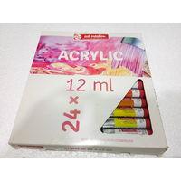 Royal Talens Art Creation Acrylic Colour Tube 12ml 24 Shades (9021724M)