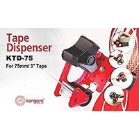 Kangaro 3 Inch Tape Dispenser with Stainless Steel Blade
