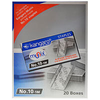Kangaro Staples No: 10 (2 Sets, 40 small boxes)