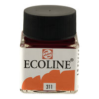 Royal Talens Ecoline Liquid Water Colour Ink 30ML - Vermilion (311)