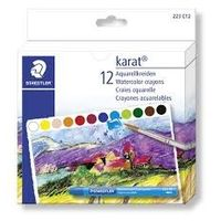 Staedtler Karat Water Color Crayons 12 Shades (223 C12)