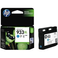HP 933 XL Cyan Officejet Ink Cartridge(CN054AA)