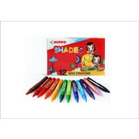 Kores Shades Wax Crayons 12 (Pack Of 10)
