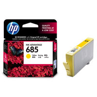 HP 685 Yellow Ink Cartridge(CZ124AA)