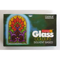 Camel Solvent Based Glass Color -Antique White, Pack of 5