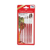 Faber Castell Paint Brush - Pony Hair Round Assorted Set of 7