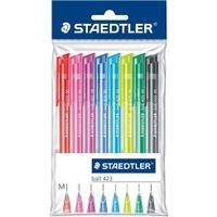 Staedtler Ballpoint Pen (Pack of 10 Colours) 423 35 PB10