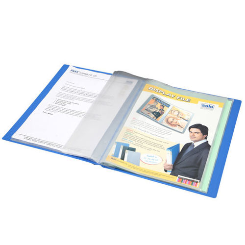 Solo Display File (40 Pockets, F/C Size, Top Loading)