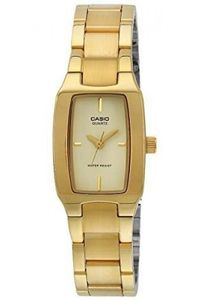 Women's Stainless Steel Band Watch - LTP-1165, champagne, gold, gold