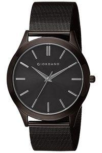 Giordano Men's Watch Analog Display- 1831-22, black, black