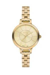 Lee Cooper Women's Super Metal Band Watch LC06175.110, gold, gold, gold