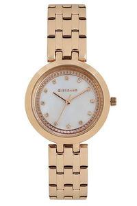 Giordano Women's's Watch Analog Display- 2821-22, rose gold, mop white