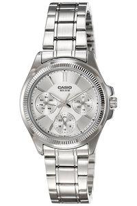 Women's Stainless Steel Band Watch - LTP-2088, silver, silver, silver