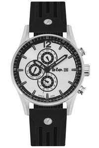Men's Resin Band Watch -LC06419, black, rose gold, black