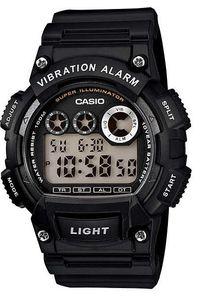 Men's Resin Band Watch - W-735, black, black, black
