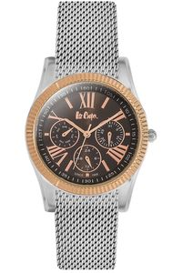 Women's Super Metal Band Watch - LC06319, brown, silver, silver
