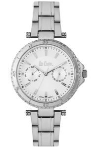 Women's Super Metal Band Watch -LC06668, white, silver, silver