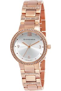 Giordano Women's Watch Analog Display- 2926-44, rose gold, rose gold