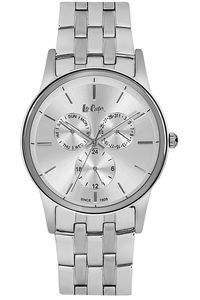 Men's Super Metal Band Watch - LC06498, silver, silver, silver