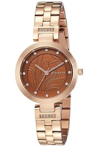 Giordano Women's's Watch Analog Display-2784-44, rose gold, brown