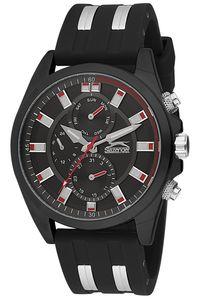 Men's Resin Band Watch - SL. 9.6049, black, black, black