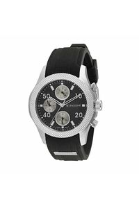 Giordano Men's Watch Multi Function Display- 1941-01, black, black