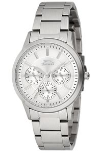 Women's Stainless Steel Band Watch - SL. 9.6072, silver, silver, silver