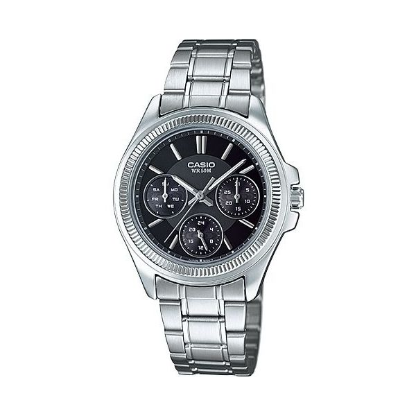 Women s Stainless Steel Band Watch - LTP-2088