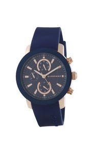 Giordano Men's Watch Multi Function Display- 1886-05, blue, blue