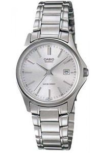 Women's Stainless Steel Band Watch - LTP-1183, silver, silver, silver