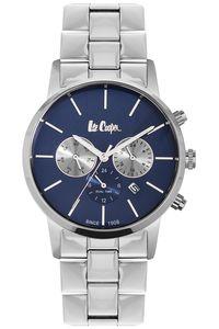 Men's Super Metal Band Watch -LC06343, silver, silver, silver