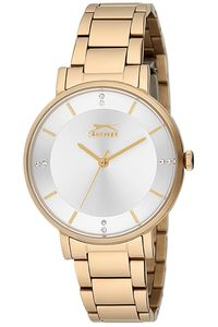 Women's Stainless Steel Band Watch - SL. 9.6060, silver, gold, gold