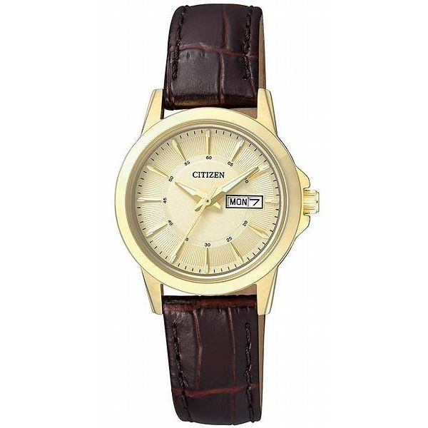 Women s Leather Band Watch - EQ0603