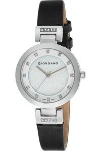 Giordano Women's Watch Analog Display-2905-02, black, white