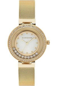 Giordano Women's's Watch Analog Display-2838-33, gold, mop white