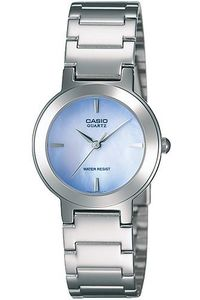 Women's Stainless Steel Band Watch - LTP-1191, silver, silver, puple