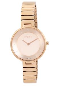 Ecstacy Women's Stainless Steel Band Watch E7519-RBKK, rose gold, rose gold, rose gold