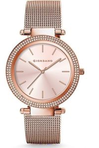 Women's Solid 316L Stainless Steel Band Watch -2798, rose gold, rose gold, rose gold