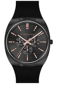 Giordano Men's Watch Multi Function Display- 1841-22, blue, blue