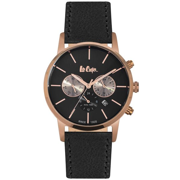 Men s Leather Band Watch -LC06341