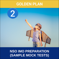 Class 2- NSO IMO Preparation ( Sample Mock Tests), gold plan