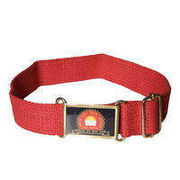 Maharaja Agrasen School Belt Red, xxl 42