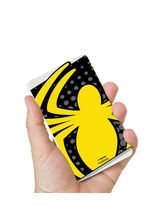 Hamee Marvel Licensed The Ultimate Spiderman 8000 mAhPowerBank (Spider / Yellow) (831-Power628), multicolor