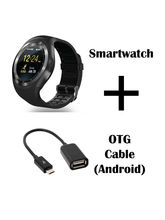 Hamee Ambitech Smartwatch With Free USB Slot OTG Cable (821-smart019-47)