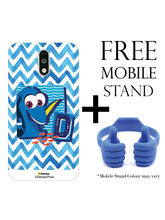 Hamee Disney Pixar Finding Dory Licensed Hard Back Case Cover For Xiaomi Redmi Note 4 Cover with Free Mobile Stand - Combo 8