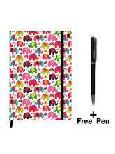 Hamee Premium Leather Notebook Hardbound Classic Cover Notebook (19apen6754)