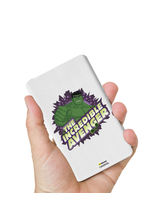 Hamee Marvel Licensed Avengers 10000 mAh PowerBank (Hulk / Incredible), multicolor