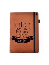Hamee Leather Hardbound Premium Cover Classic Notebook (837-006812), brown